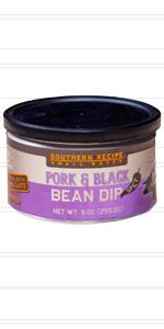 spicy black bean pork rind dip by southern recipe small batch