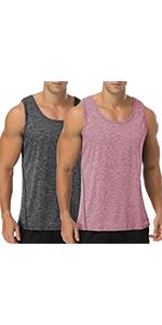 Babioboa Menamp;amp;#39;s Workout Hooded Tank Top Sleeveless Gym Hoodies