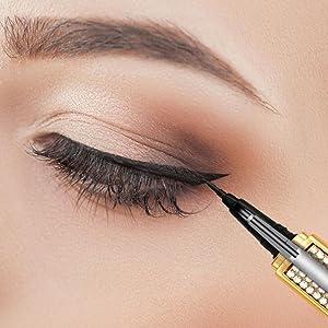 Self adhesive eyeliner,eyeliner glue pen,eyeliner glue pencil,eyeliner self adhesive,gifts for women