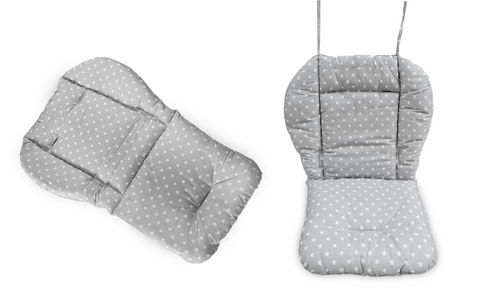 high chair cushion conformation
