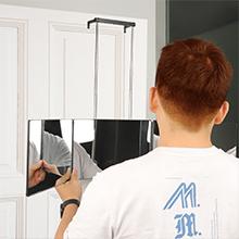 360 degree mirror self haircut
