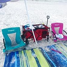 KingCamp Low Seat Beach Chair