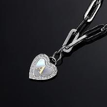 A-Z letter pendant for women girls