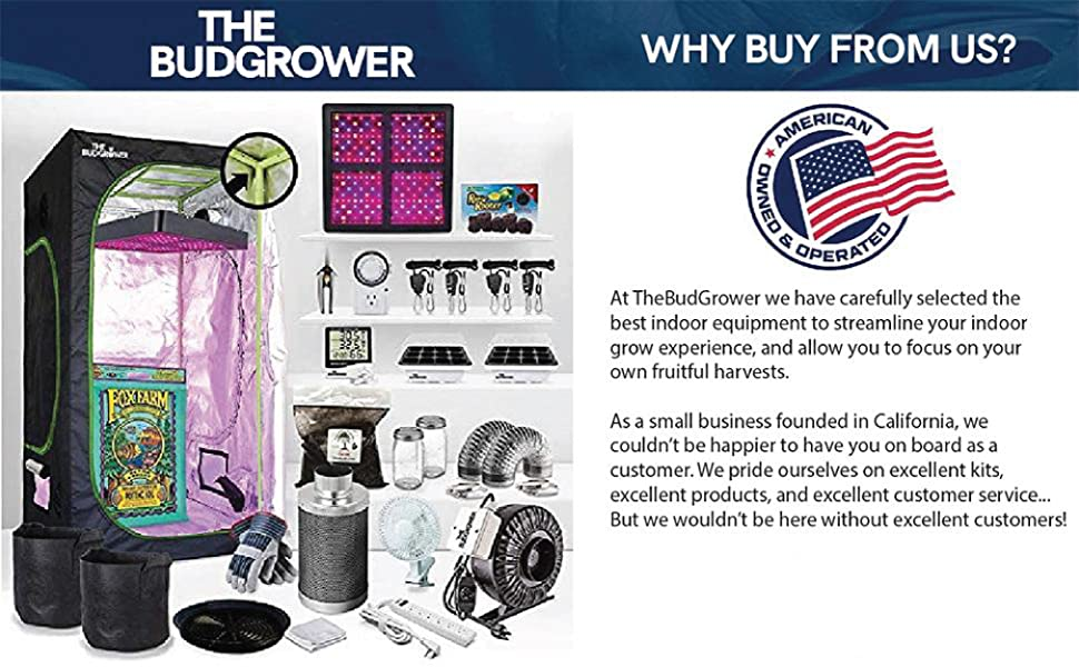 the bud grower california indoor hydroponics growing system indoor kit complete ultimate