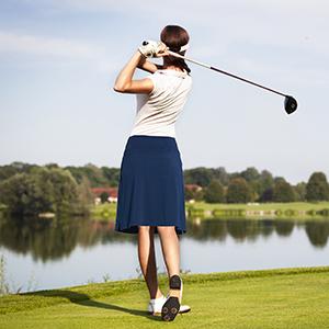 Knee Length Skorts Skirts