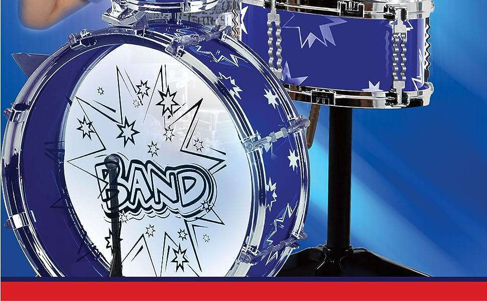 ToyVelt Jazz Drum Set Kids Orchestra