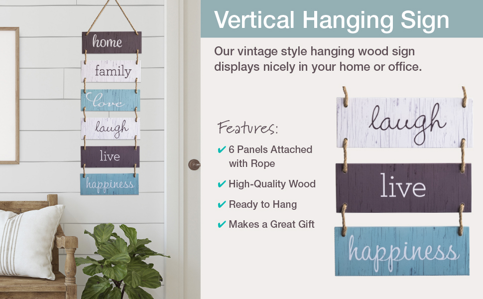 Hanging Sign Features