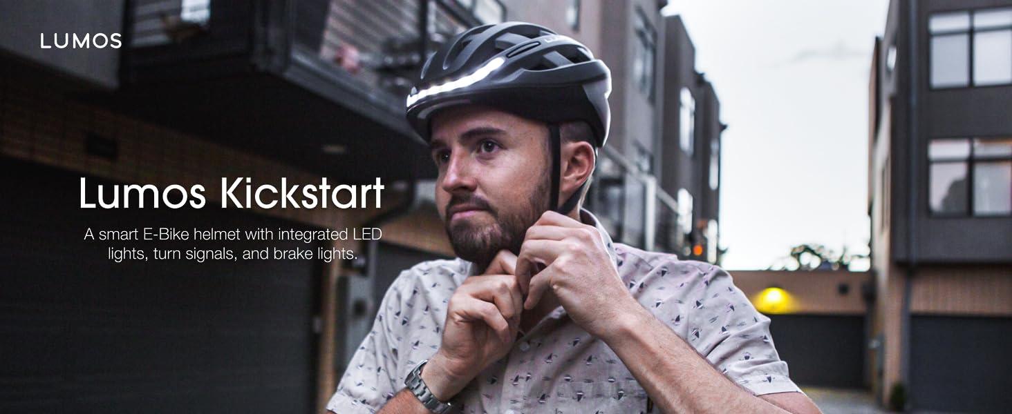 helmet lumos lights LED smart helmet cycling skateboard longboard onewheel bikes bicycles ski