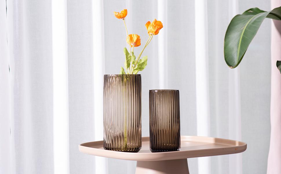 glass vase for living room