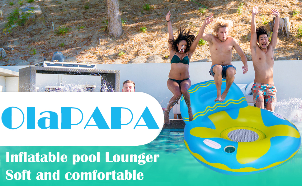 Rapid Rider Inflatable Tubes are an excellent choice for floating in pool or lake with friends