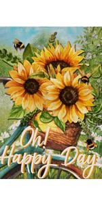 Hyppze sunflower happy day