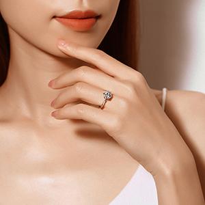 real diamond rings for women