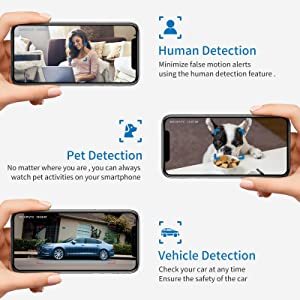 wifi camera with smart recognition