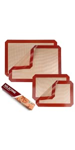 baking mats for cookie sheets