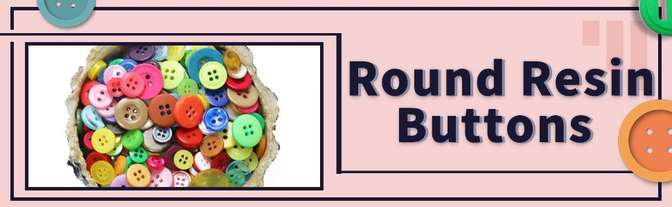 Round Resin Buttons