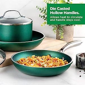 granitestone cookware, granitestone pots and pans set