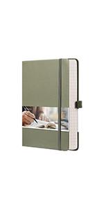 EMSHOI College Ruled Notebook A5 Lined Journal