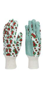 Ellonby cotton drill garden gloves gardening flexible comfortable general purpose floral weed seed