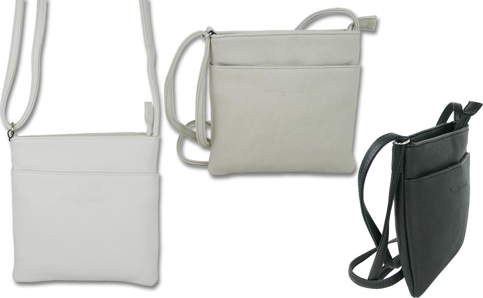 Kleine Damen Schultertasche Umhängetasche, crossover Handtasche