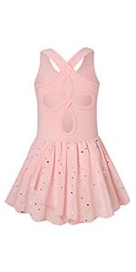 Ballet Tutu Leotard Toddler Girls Ballerina Dance Outfit Dress