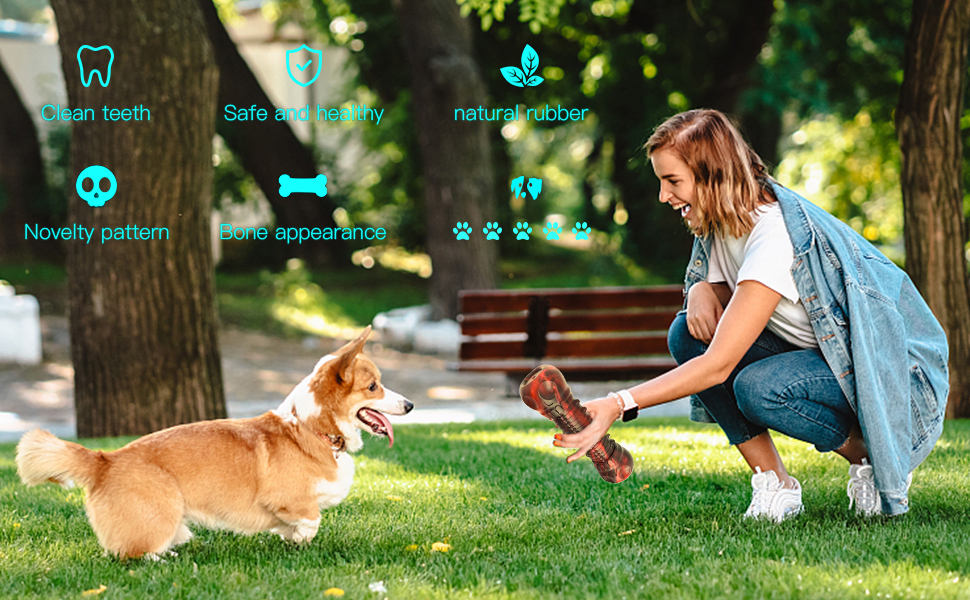 Interactive toy for large dogs