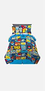pokemon pikcachu gaming kids bedding bath children character cartoon animated accessories