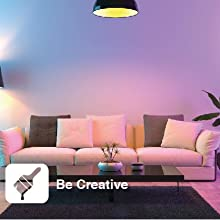 LED Bulb smart led bulb laser light lighting lifx table lamp bulbs e14 homekit sunset nest hub globe