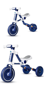 Blue toddler tricycle