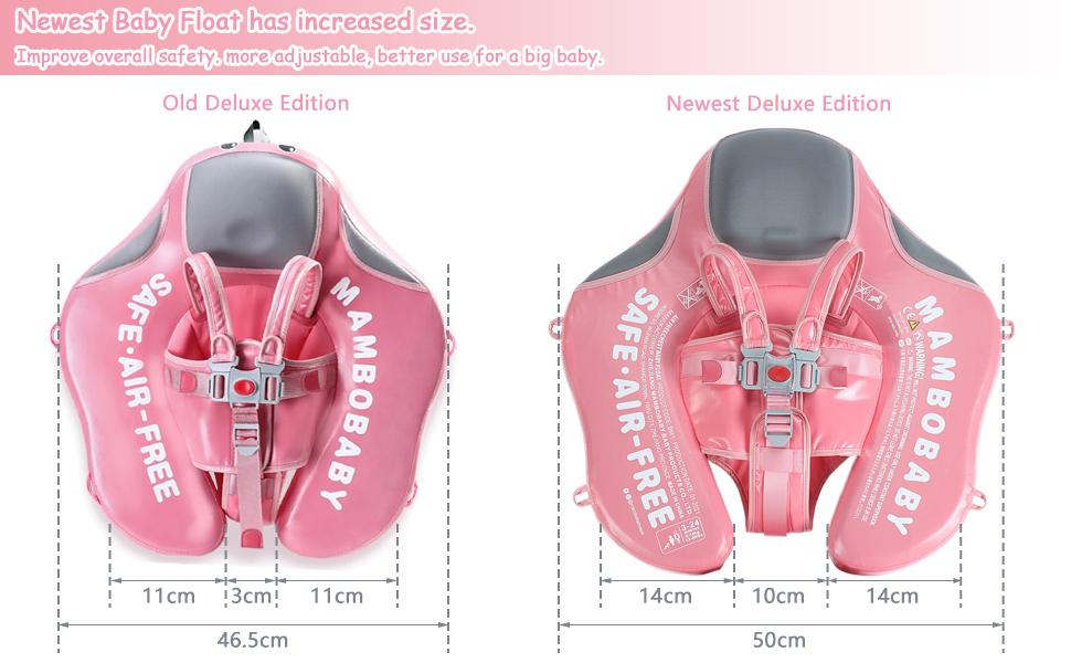 Add Tail mambobaby baby swim float