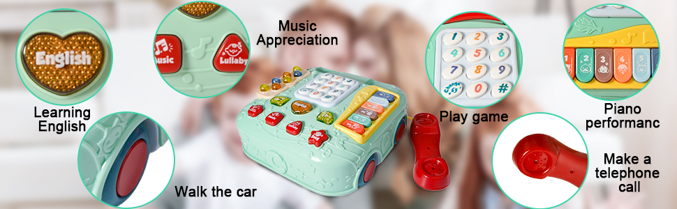musical instruments for toddlers 1-3