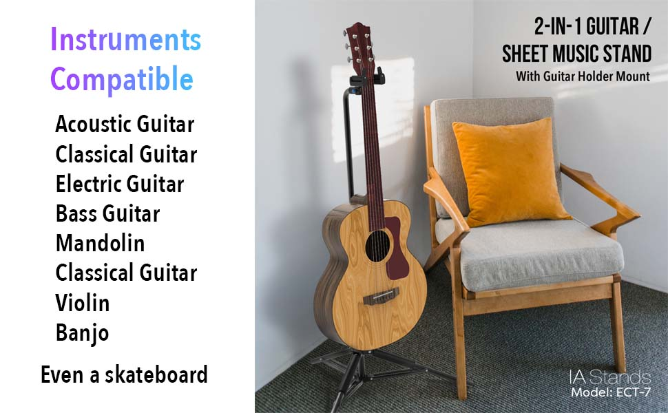 Instruments compatible with ECT7