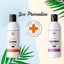 Orange Cross Mint Shampoo+ Mint Conditioner