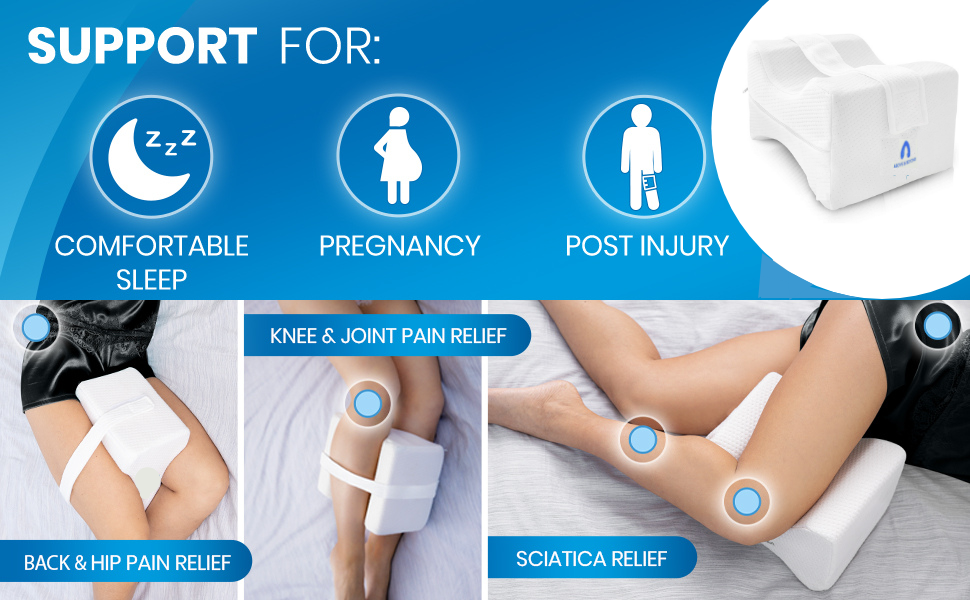 Knee Pillow Support For