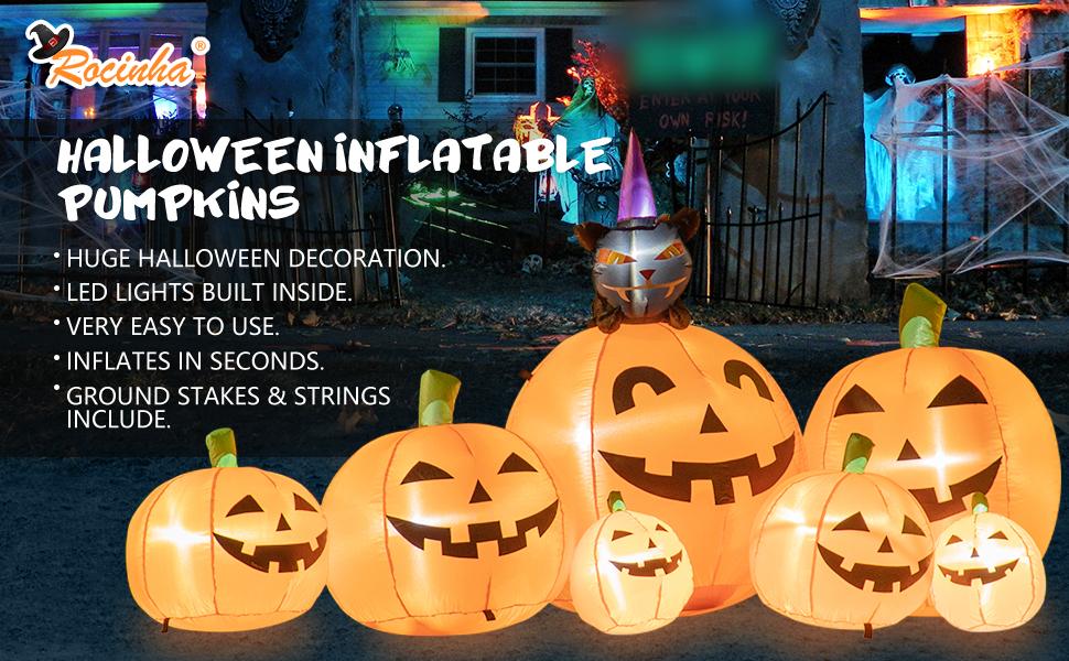 Halloween Inflatable Pumpkins