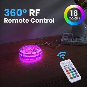 remote led pool light
