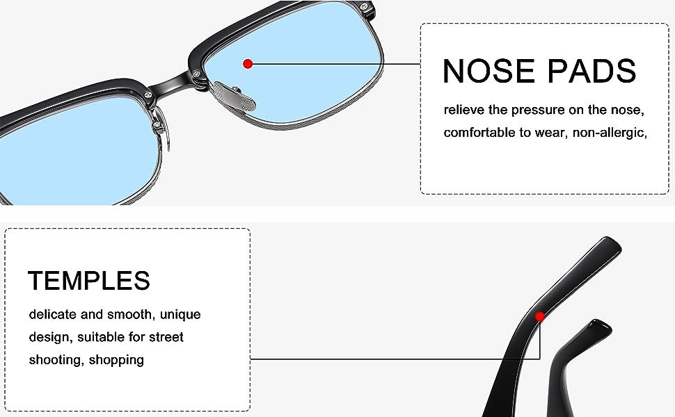 semi-rimless glasses Beckham optical smith 007 glasses