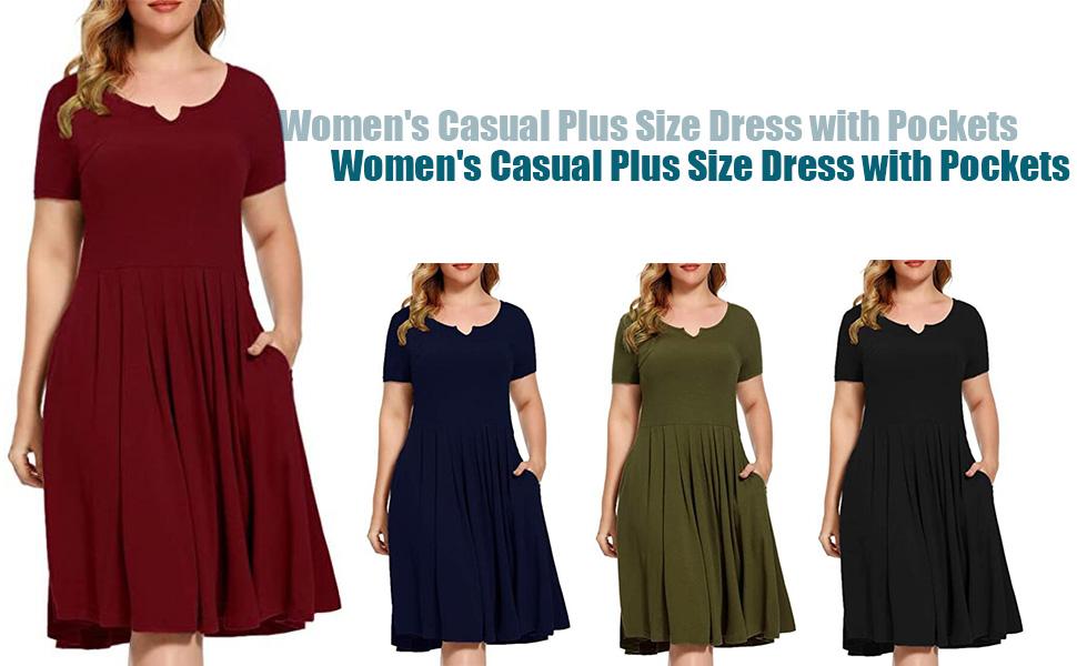 A-Line Dresses with Pockets