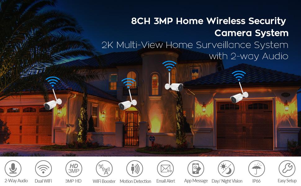 home security camera system
