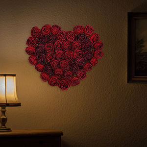 wall flowers decorations