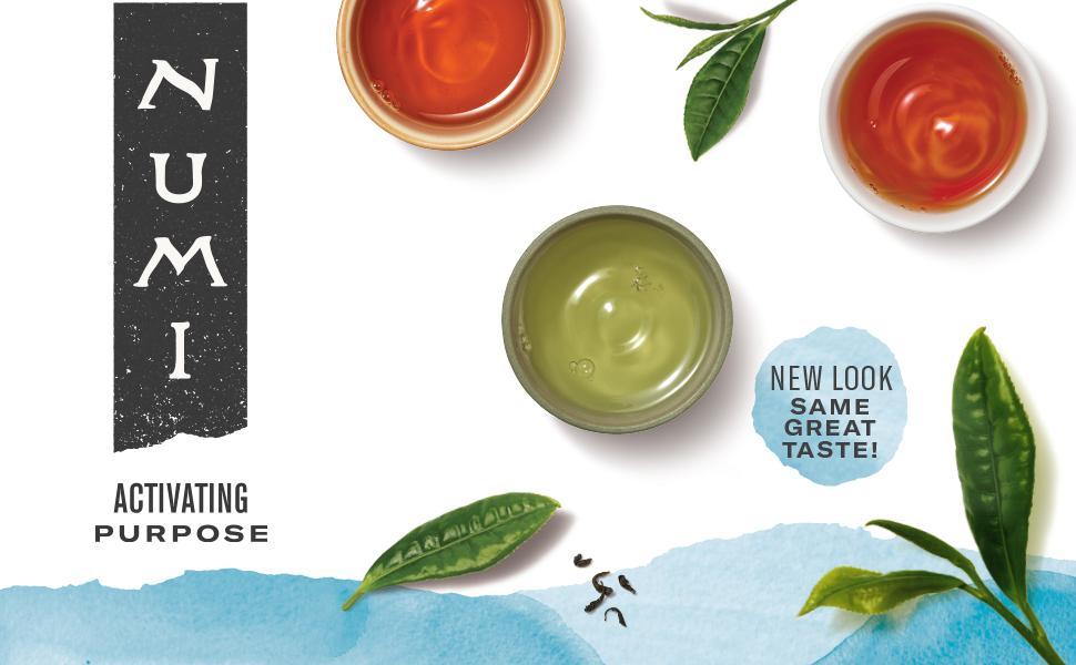 numi organic tea activating purpose