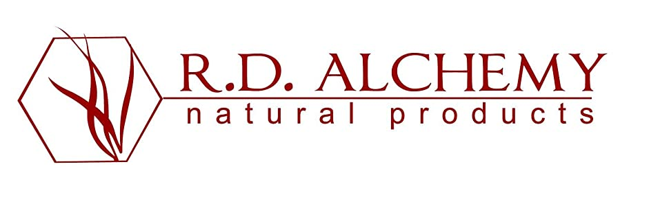 Logo of R.D. Alchemy Natural Products. best natural product company, best natural beauty