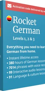 Rocket German Levels One, Two and Three Box
