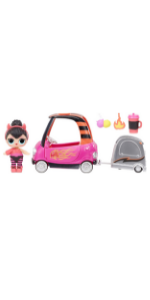 LOL Surprise Furniture Series 4 B.B. Auto Shop with Spice Doll