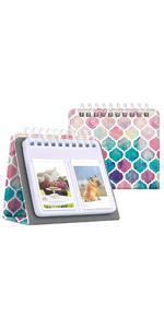 Fintie Calendar Photo Album for 3-Inch Film - 64 Pockets