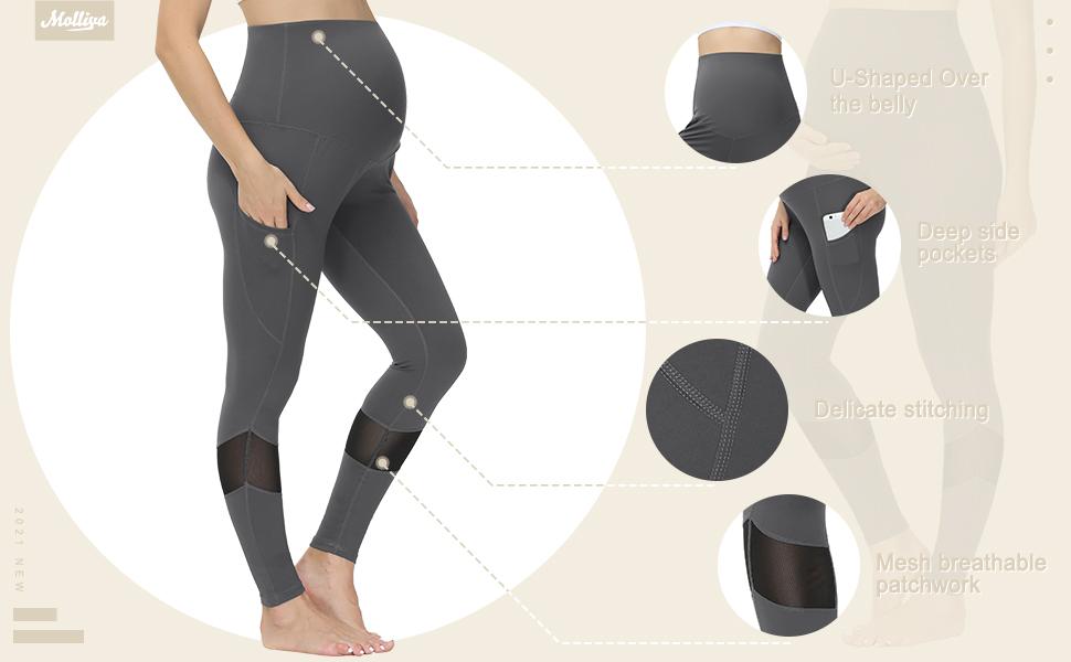 women maternity leggings