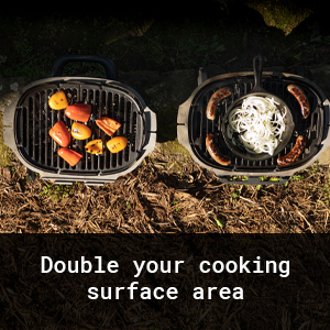 Double Your Cooking Surface Area