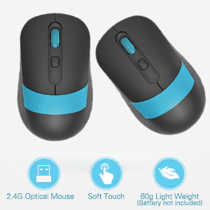 LIGHT WEIGHT, SOFT TOUCH, OPTICAL MOUSE