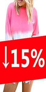 Color Block Pullover Sweatshirts