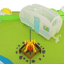 Camping is a symbol of adventure, friendship, closeness, exploration, etc.