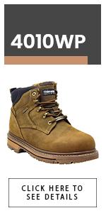 King Rocks Men's Moc Toe Construction Boots Work Shoes